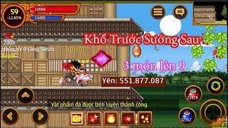 Ninja School Online : Đầu Tư Nửa Tháng Làm Youtobe Mua Tử Tinh Thạch Cao Tinh Luyện Đồ Cho #Phongker