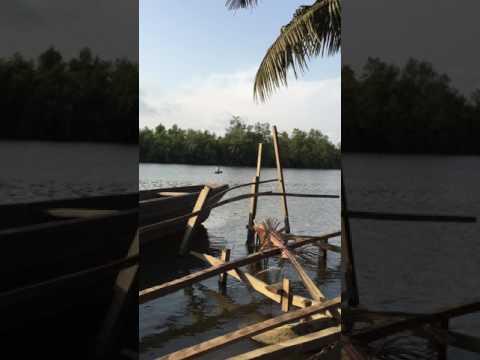 Cinnamon Traveler on Wouri River, Douala, Cameroon, Central Africa