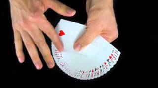 Magic Tricks Revealed - How To Fan a Deck of Cards the EZ Way