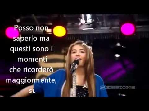 Miley cyrus  - The climb - (Traduzione)