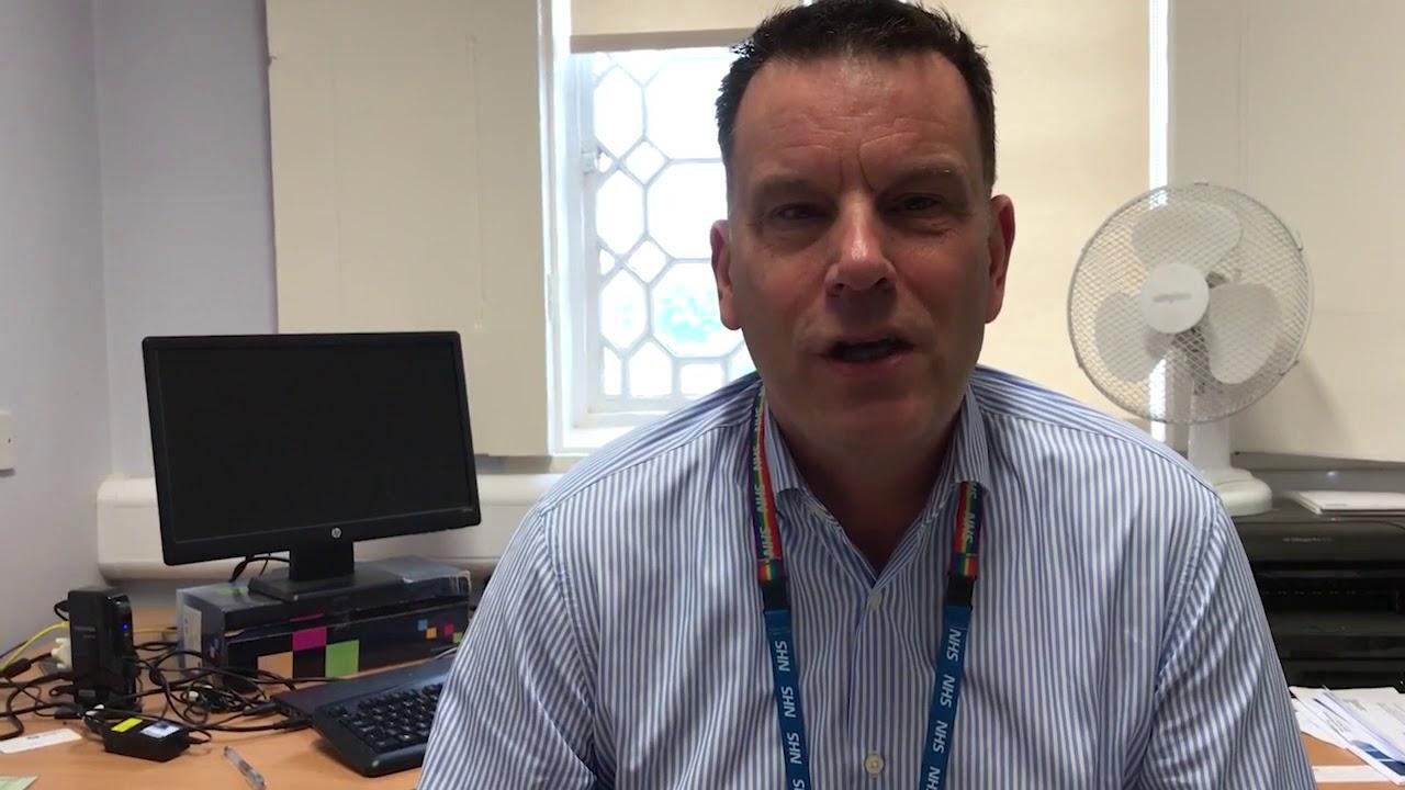NHS 70 - Dr Mark Potter, Medical Director