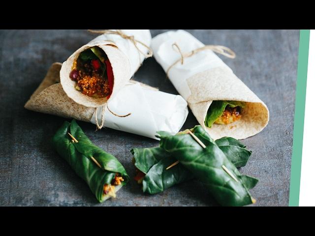Quinoa Burritos | Living The Healthy Choice
