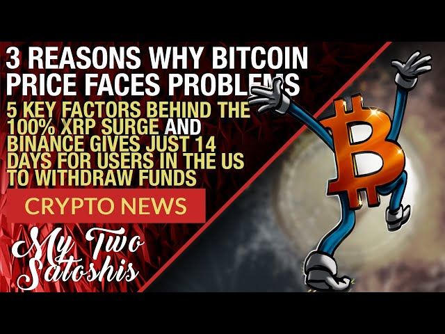CRYPTO MARKET UPDATE: 3 Reasons Why Bitcoin Might Stall Here! XRP Goes H.A.M.