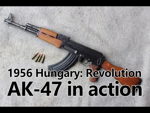 AK-47 Kalashnikov in action - Guns of the 1956 Revolution Part II
