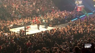 AEW - Double or Nothing - Jon Moxley (Dean Ambrose) Debut! (live crowd reaction)