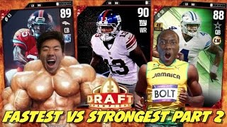 FASTEST VS STRONGEST PLAYER DRAFT EP. 2! MADD...
