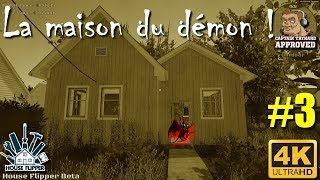 House Flipper Gameplay FR 4K, Je rénove la maison du démon !