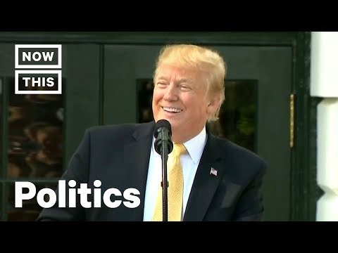 Trump Speech to Reporters' Kids Goes Off the Rails | NowThis