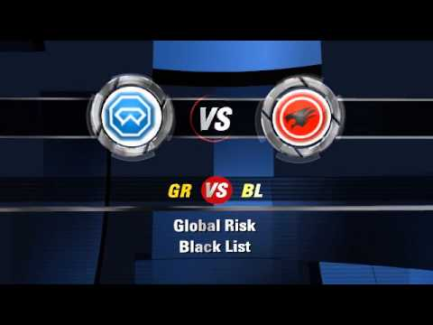 Global Risk vs Black List - Created using Flixpress.com