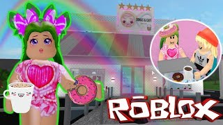 🍩ABRO MY DONAs STORE AND CAFITY KAWAII☕IN BLOXBURG🏪- ROBLOX