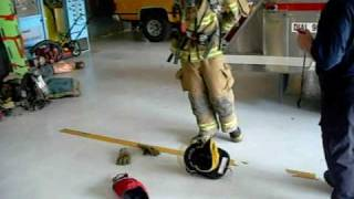 donning fire gear in 58 seconds