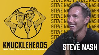 Lil Steve Nash From Canada Talks With Q & D | Knuckleheads S2: E9 | The Players