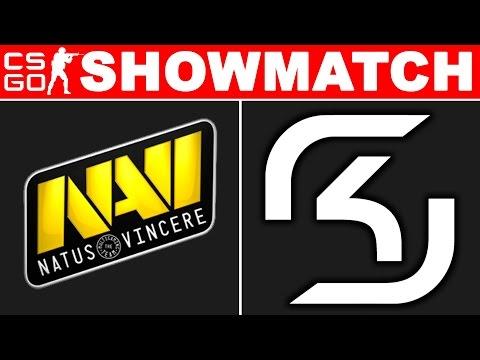 NaVi vs SK - Showmatch CS GO - BO2 map2 (de_overpass)