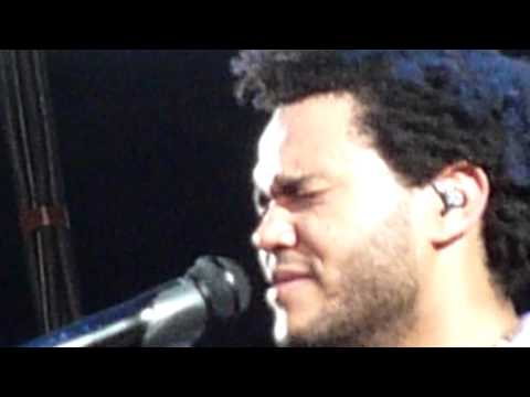 The Weeknd Live Lollapalooza Grant Park Chicago IL August 4 2012