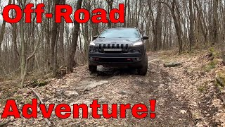 Jeep Cherokee Trailhawk Off-Road Review - Cooper AT3 Tires