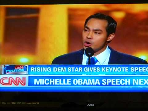 Mayor Julian Castro Speaks at 2012 Democratic National Convention