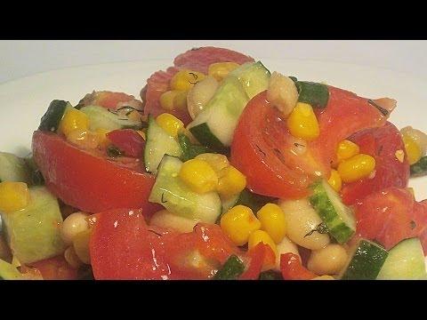 Рецепт: Салат из свежей капусты с растительным маслом и