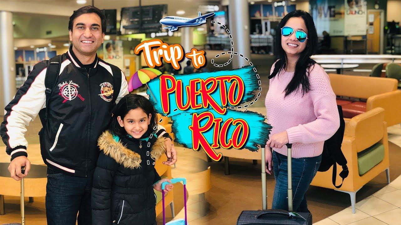 Ek Toofani Raat - The Trip to Puerto Rico - Vlog | Lalit Shokeen Films |