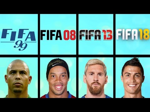 Highest Rated Football Players Ever in FIFA Games (FIFA 96 - FIFA 18)