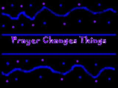 Deitrick Haddon - Prayer Changes Things