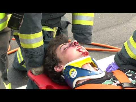 Granite Bay High School Every 15 Minutes Crash and Ambulance