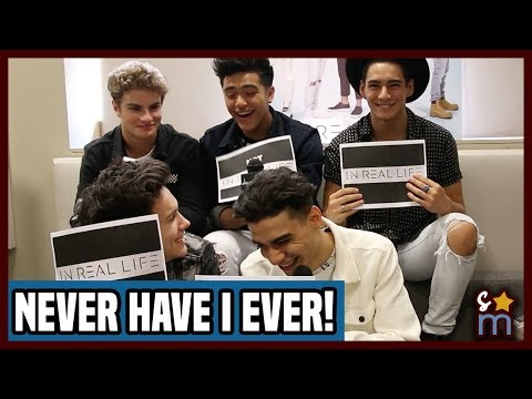 IN REAL LIFE Play NEVER HAVE I EVER?! | Exclusive Interview