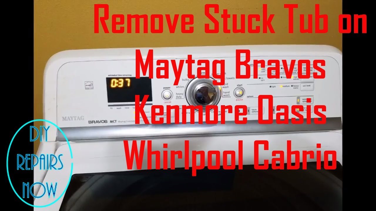 How to Remove Tub On Maytag Bravos, Whirlpool Cabrio, Kenmore Oasis | Fast  & Easy | Tub Removal Tool
