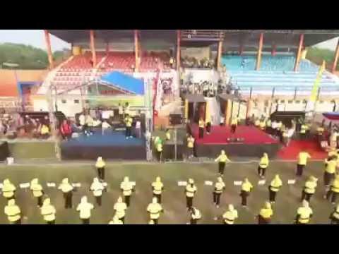Bojonegoro Matoh Pecahkan Rekor Muri, Peserta Senam Terbanyak!