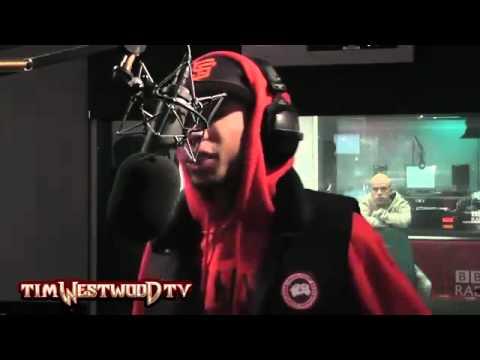 Tyga Freestyle On Tim Westwood! (Over Kanye West's Runaway)