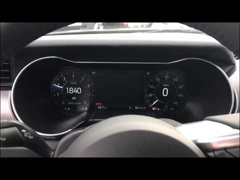 2018 Mustang Gt Premium Digital Dash