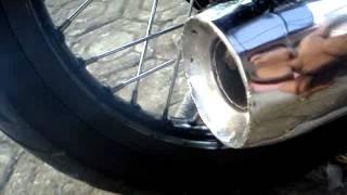 Repeat youtube video Knalpot Racing Rx King - Peak Standart Racing Chrome [YRK014]