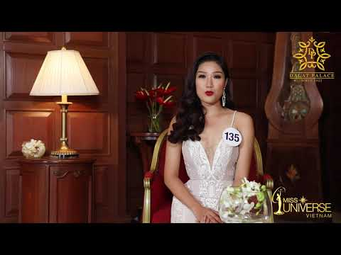 INTERVIEW   Lại Quỳnh Giang, SBD 135   Top 45 Miss Universe Vietnam