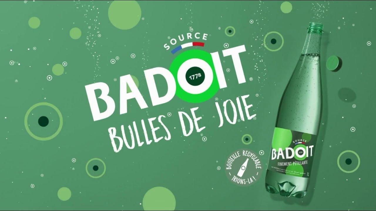 """Musique de la pub Badoit – Barbara baille au bar """"bulles de joie""""  Mai 2021"""