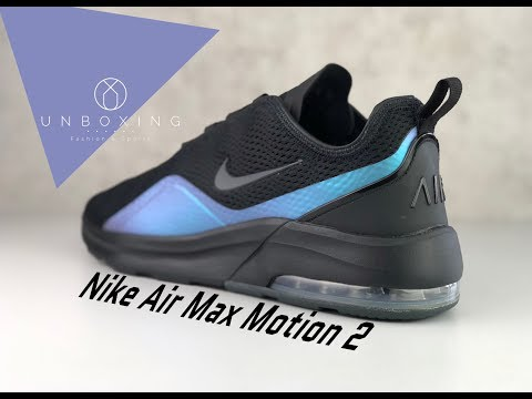 Nike Air Max Motion 2 'BlackAnthracite Racer Blue