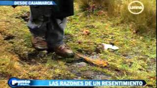 Punto final. reportaje proyecto CONGA Cajamarca 04-12-11