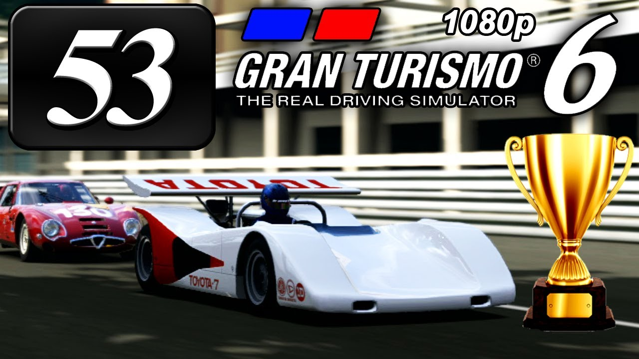 Gran turismo 6 fullhd part 53 historic racing car cup