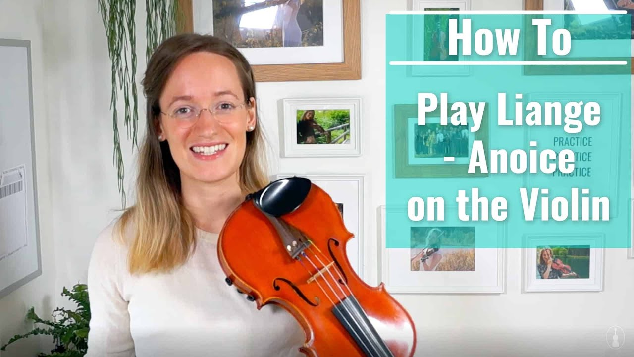 How to play Liange - Anoice on the Violin  | Upper Beginner Song | Violin Tutorial