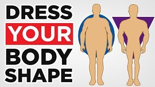 How To Dress Your Body Shape (Muscular, Skinny, Fat) Fashion Tips For Body Type | RMRS Style Videos