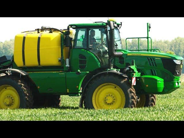 John Deere - Pulverizadores autopropulsados - R4140i y R4150i