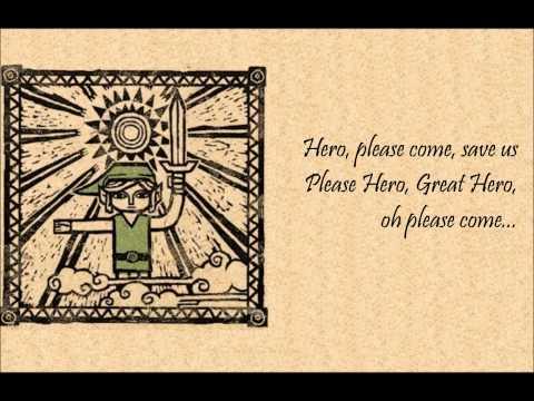 Zelda Lyrics: The Legendary Hero