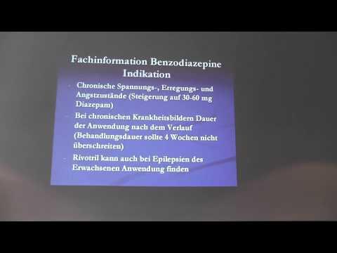 Vortrag: Umgang mit Beigebrauch und Benzodiazepin-Verschreibung: Zwischen ganz oder gar nicht