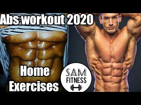 6 pack abs home workout for beginners no equipment you can