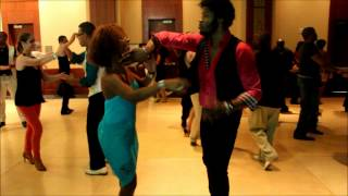 Dc Salsa Congress 2012 |  Terry Tauliaut & Cécile Ovide (p-2)  | Social Dancing |  New Swing Sextet