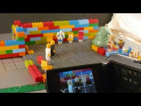 Behind the Scenes | LEGO Black & White (A Stop-Motion Animated Film)