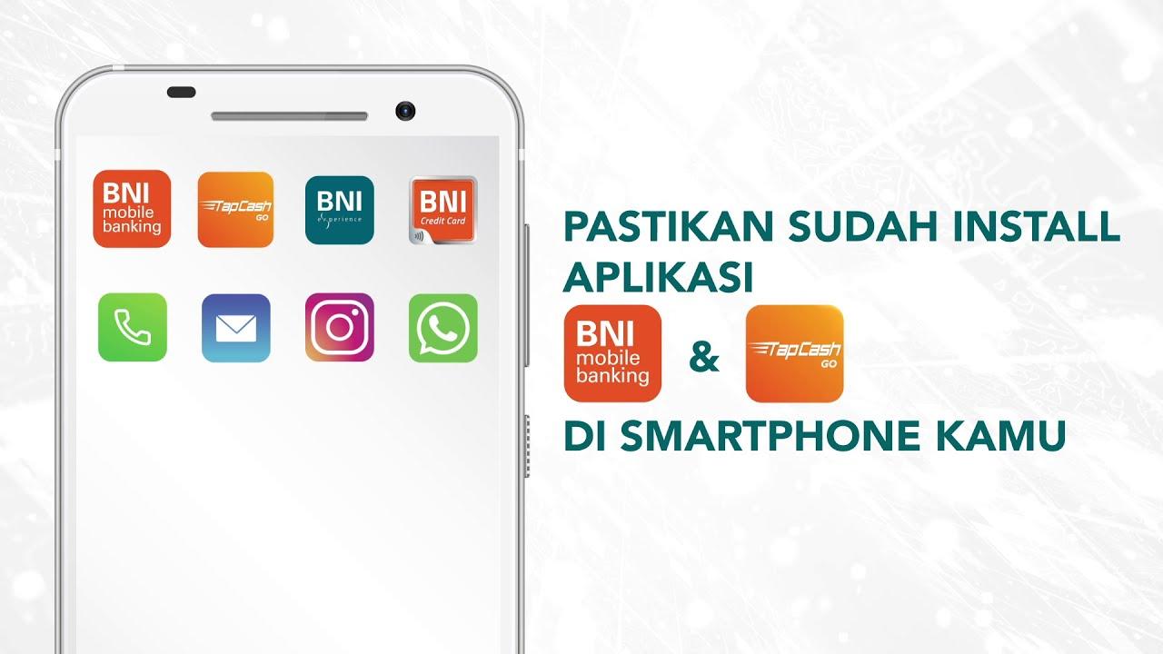 Cara Top Up TapCash di BNI Mobile Banking - YouTube