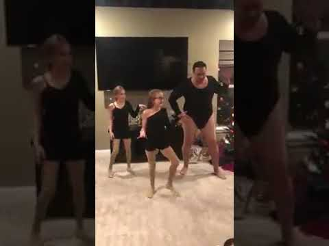 Kat Jackson - Dad Dances with Daughters to Single Ladies