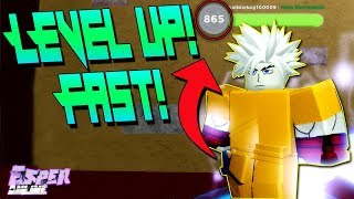 [10 SPINS NEW CODE!] HOW TO LEVEL UP FASTER IN | ESPER ONLINE | ROBLOX |