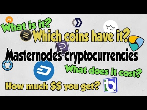 Cryptocurrency masternodes - What is it? Which cryptocurrencies use it? How profitable?
