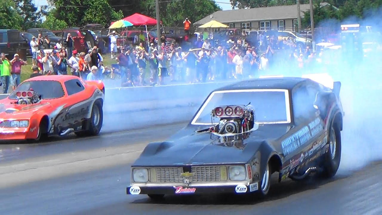 Old School Yester Year#1 Funny Cars Cecil 6 11 16 - YouTube