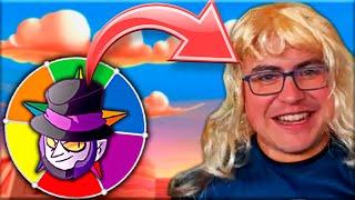 SI PIERDO ME CONVIERTO en un BRAWLER ¡¡1 SEMANA!! 😨😭 Ruleta Troll #3 🎡 Alvaro845